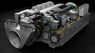 Disel engine 6TD-3