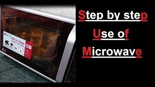 Use of Microwave convection oven step by step | Review | RB