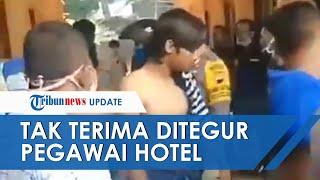 Tak Terima Ditegur, 7 Orang Pemuda Pukuli Pegawai Hotel di Semarang, Kini Ditangkap Polisi