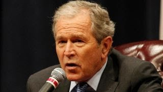 Former President Bush to give speech on North Korea