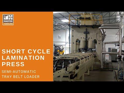 Short Cycle Lamination Hot Press