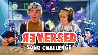 REVERSED SONG CHALLENGE!