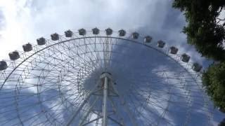 52 метра над уровнем Краснодара - колесо обозрения в Городском саду июль 2016