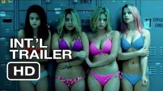 Spring Breakers Official International Trailer #1 (2013) - James Franco Movie HD
