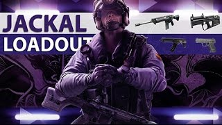 [ENGLISH] RAINBOW SIX SIEGE - Jackal Loadout Review [Operation Velvet Shell]