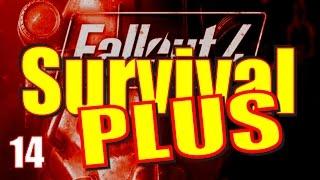 Fallout 4 Survival Mode Walkthrough Part 14 - The Railroad Pickman Run