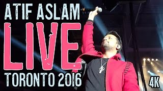 Atif Aslam - Yakeen LIVE Toronto 2016 in 4K