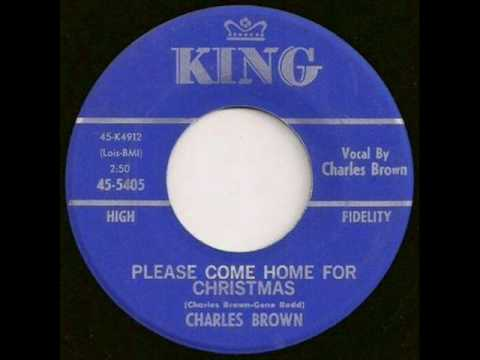 Charles Brown - Please Come Home For Christmas - Christmas Radio