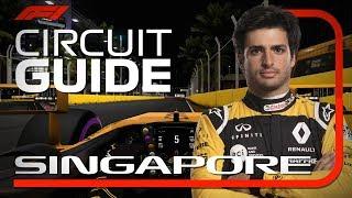 Carlos Sainz's Virtual Hot Lap of Singapore | Singapore Grand Prix