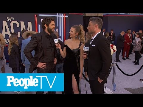 Thomas Rhett On Shooting The 'Look What God Gave Her Video' With His Kids | PeopleTV