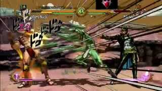 JoJo's: All-Star Battle [NA] Jotaro Ranked Matches (Never Give Up!)- HD
