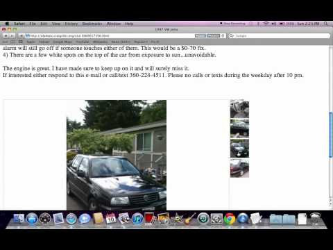 Craigslist Olympic Peninsula Washington - Used Cars for Sale by Owner Available Now