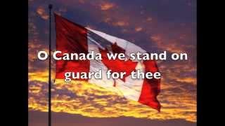 O Canada Celtic English - National Anthem (Lyrics)