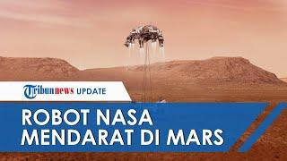 Robot NASA Mendarat dan Bagikan Potret Pertama di Mars, Presiden AS Joe Biden Ucapkan Selamat