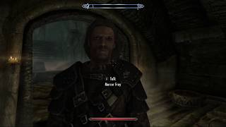 Wait, so Mercer is the bad guy!? But I liked him! Adventures of CatDog in Skyrim, ep146 - ƒel Plays!
