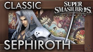 Super Smash Bros. Ultimate: SEPHIROTH Classic Mode - 9.9 Intensity No Continues