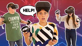 Last To Leave VR WINS $10,000 **Mr. Beast Challenge**   Gavin Magnus