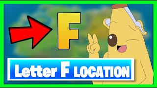 WHERE to find the HIDDEN letter F in Fortnite Season 11 Chapter 2 ??