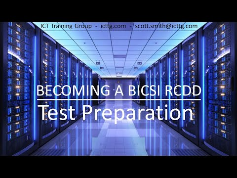 Pass Your RCDD Test on your 1st try - Most Comprehensive Study ...