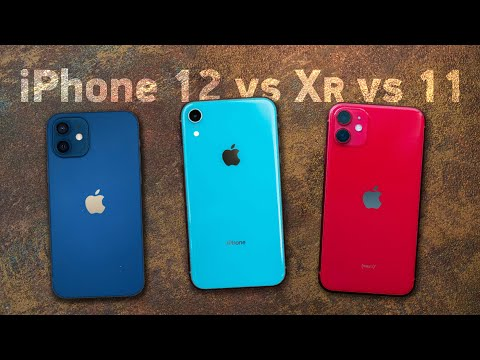 iPhone 12 vs XR vs 11 — какой взять? Сравнение!