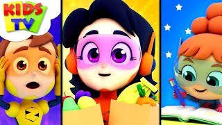 In A Minute   The Supremes Cartoons   Kindergarten Videos For Children - Kids Tv