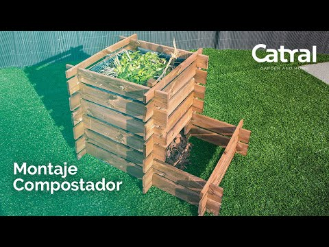 Compostador madera Farmbox
