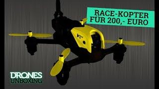 UNBOXING: RTF-Race-Kopter für 200,- Euro | Was kann der Hubsan X4 Storm?