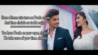 Prada - Jass Manak - Lyrics With Translation