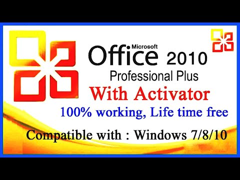 How to Download & Install MS Office 2010 with Activator  100