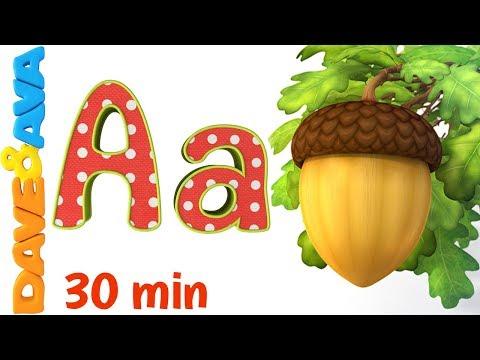 🤩Phonics Song 2 | Learn ABC's and Phonics | Nursery Rhymes and ABC Songs for Kids from Dave and Ava🤩