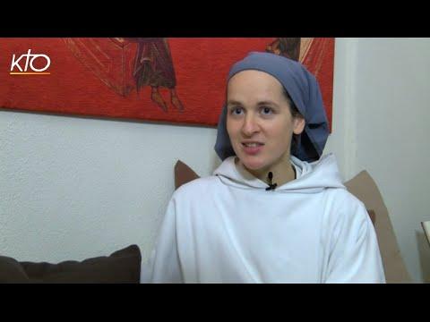 Soeur Félicitée, novice chez les Petites soeurs de Bethléem