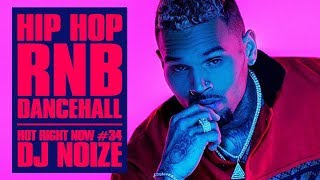 Hot Right Now #34 |Urban Club Mix January 2019 | New Hip Hop R&B Rap Dancehall Songs|DJ Noize