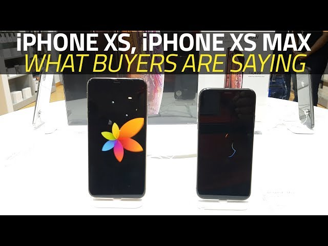 iPhone XS, iPhone XS Max to Go on Sale in India Today: Price