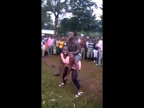 Kenyan Girl Being Daggered In Public