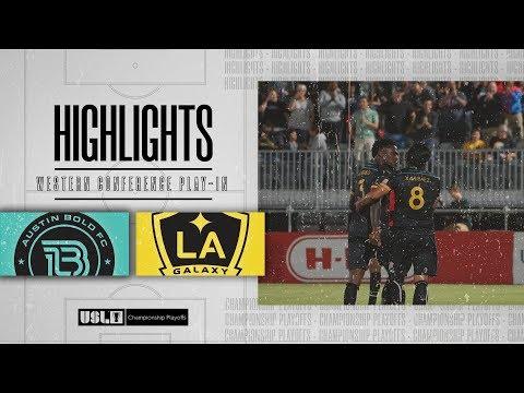 Austin Bold - LA Galaxy 2 2:0. Видеообзор матча 24.10.2019. Видео голов и опасных моментов игры
