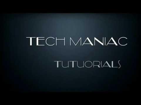 Tech Maniac Intro Video