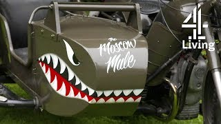 Painting Nose Art on a Motorcycle Sidecar | Find It, Fix It, Drive It