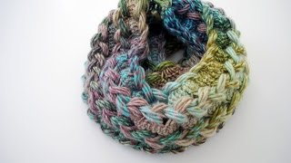 How To Crochet A Hairpin Lace Infinity Scarf
