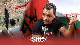 فيديو رائع.. جزائريون يطلبون العلم المغربي على الحدود وهكذا وصلهم