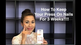 How To Keep Your Press On Nails Lasting Longer and cost only $6 !!!!!