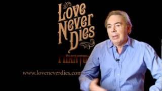 """Andrew Lloyd Webber Tim McFarlane Announce """"Love Never Dies"""" Australia"""