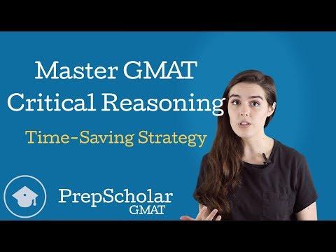 Master GMAT Critical Reasoning: Time-Saving Strategy