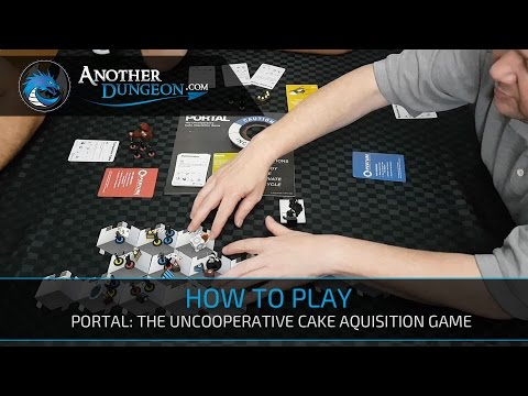 How to play Portal: The Uncooperative Cake Aquisition Game - Episode 2 - Demo Game