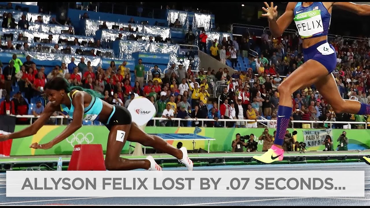 Shaunae Miller's dive wins gold in 400m final | Rio Olympics 2016 thumbnail