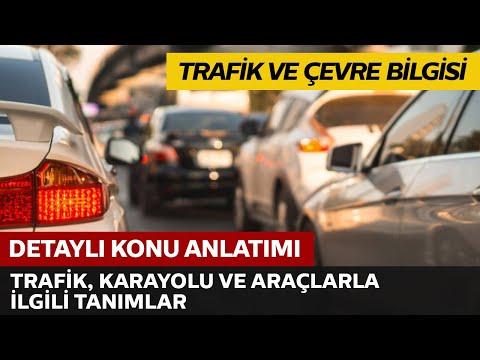 Trafik, Karayolu,Araçlarla İlgili Tanımlar