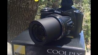 Unboxing Nikon Coolpix L830 Sample Video & Pics