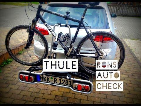 Thule EuroRide 940 Anhängerkupplung Fahrradträger Test Aufbau und Montage