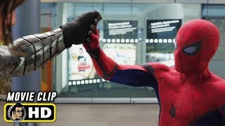 CAPTAIN AMERICA: CIVIL WAR (2016) Clip - Spider-Man Vs. Winter Soldier [HD]