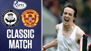OTD 2003 Thistle win a crucial postsplit fixture against Motherwell thanks to