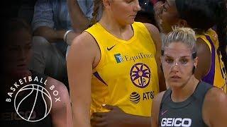 [WNBA] Los Angeles Sparks vs Washington Mystics, Full Game Highlights, August 27, 2019
